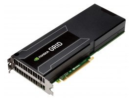 NVIDIA GRID K2 8GB GDDR5 PCIe 3.0 - Passive Cooling Left-to-Right Airflow (AOC-GPU-NVK2-LR)