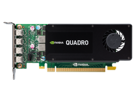 NVIDIA PNY Quadro K1200 4GB GDDR5 PCIe 2.0 Low Profile ONLY, GPU-NVQK1200D