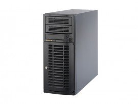 COMBO Máy chủ Supermicro Tower CSE-733T-500B, E5-2609v3, 4xHP 600GB 6G SAS 10K 2.5in