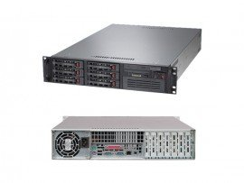 COMBO Máy chủ Supermicro 2U CSE-822T-400LPB E5-2609 v3, 4x HP 300GB 10k 6g SAS 2.5in