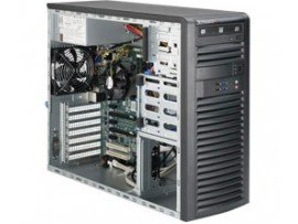 SuperWorkstation SYS-5038A-iL Black, E3-1225 v3 3.2Ghz, RAM 8GB DDR3 UDIMM