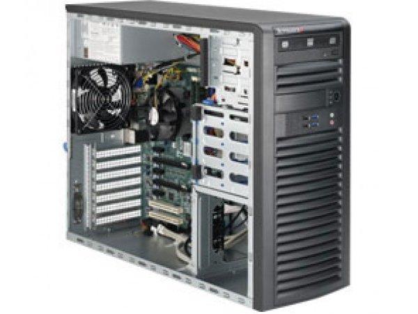 SuperWorkstation SYS-5039A-iL Black, E3-1280 v5 3.7G, RAM 8GB DDR4 UDIMM